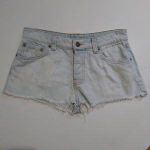 Carmar LF soft denim shorts